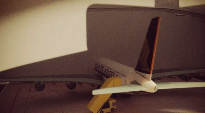 First model for my airport diorama.. Yay!