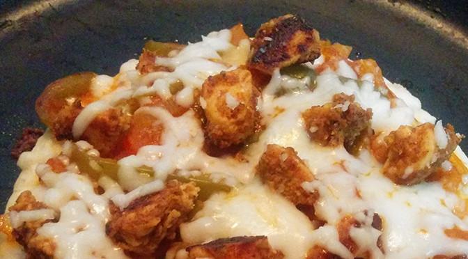Recipe: Pita Pan Pizza (15 mins only)